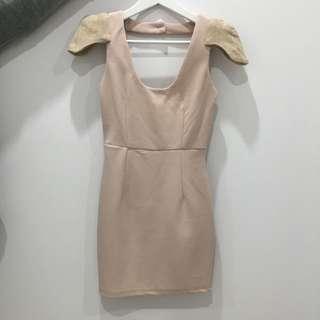 Size 6 Nude Dress