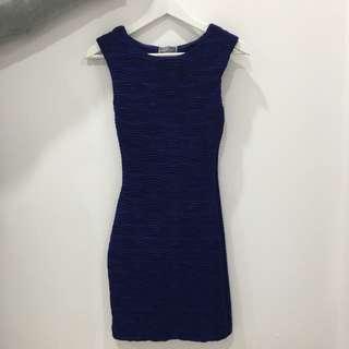 Size 8 Blue Lipsy London Dress