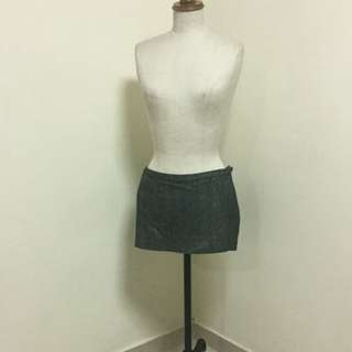 Topshop Mini Skirt With Sparkle Details