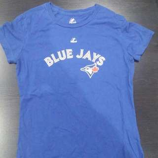Majestic Blue Jays T-shirt