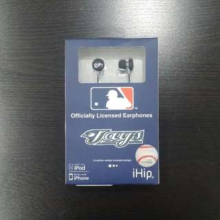 Blue Jays Earbuds