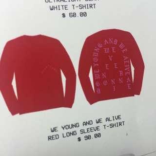 Pablo Kanye Red L