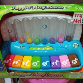 New Leap Frog Poppin' Play Piano
