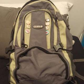 Green Back-Pack