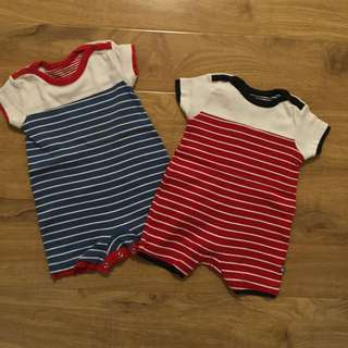 Mothercare Baby Boys Rompers 3-6 Mkmysh