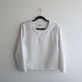 Calvin Klein White Sweater