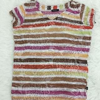 Summer Pattern T-shirt By Coolteen
