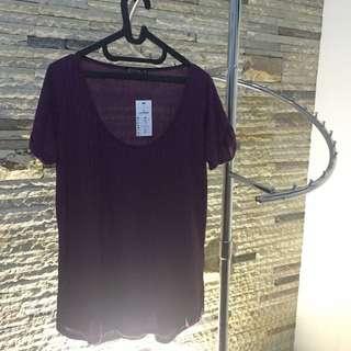 Purple Tshirt By Cotton On