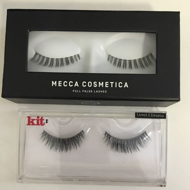 2 Pairs False Lashes From Mecca Cosmetica