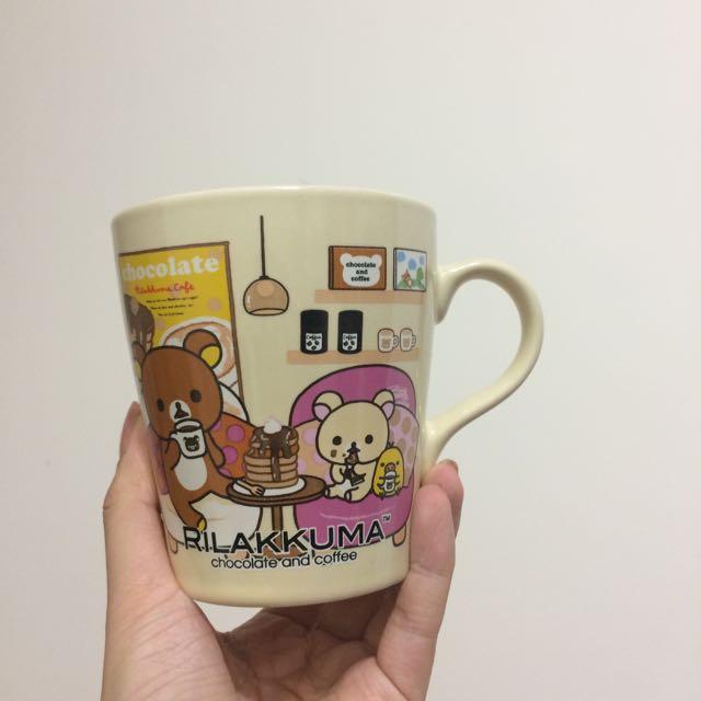 全新✔️現貨✔️7-11集點拉拉熊甜蜜巧克力咖啡馬克杯黃色小雞🐤