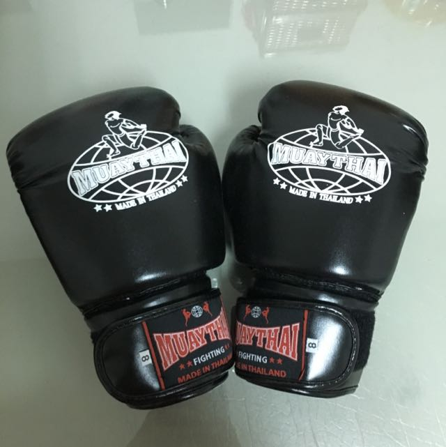 拳擊手套(買手套送對打專用手套)