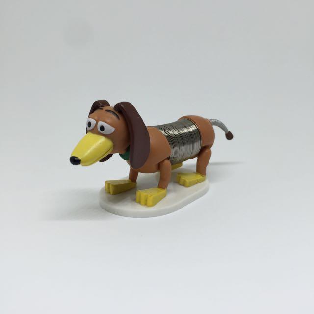 🚫迪士尼 美系玩具 彈簧狗 玩具總動員 公仔 場景 景品 真實彈簧小子