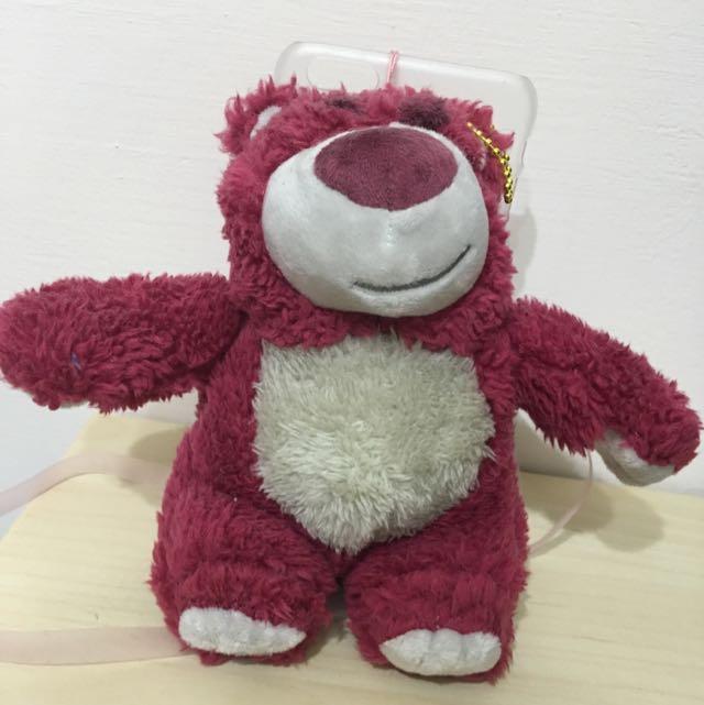 草莓熊玩偶手機殼 Iphone 6/6s Plus 5.5'
