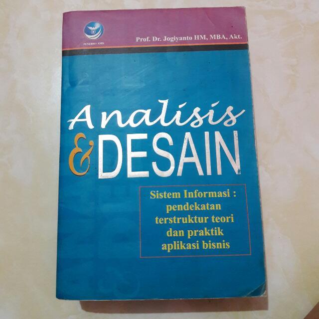 Analisis Dan Desain