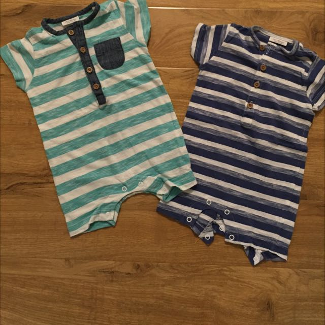 Baby Boys Next Rompers 3-6 Months