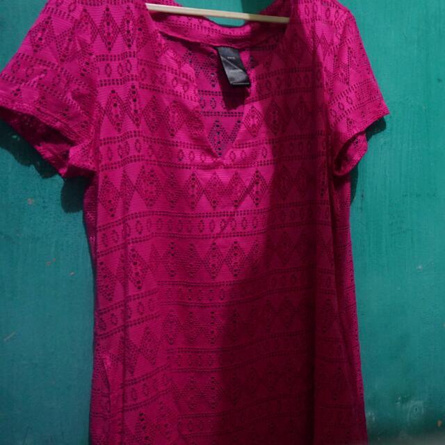 [REPRICE]Baju Pink