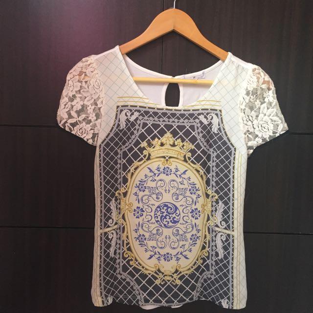 Bangkok Lace-sleeve