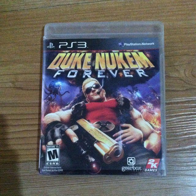 Bd Game Duke Nukem Forever PS3
