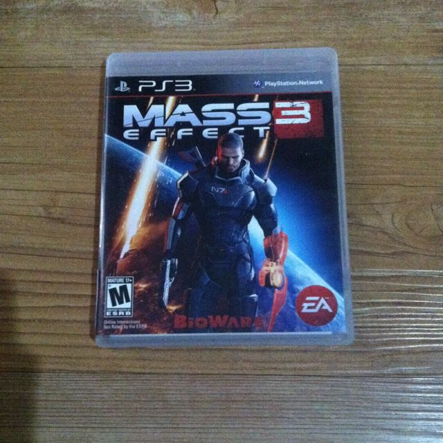 Bd Game Mass Effect 3 PS3