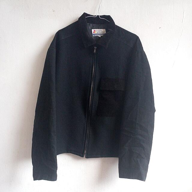 Black Collar Jacket Outer