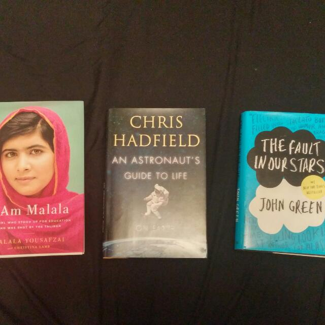 Books $5 Each Or All 3 For $10