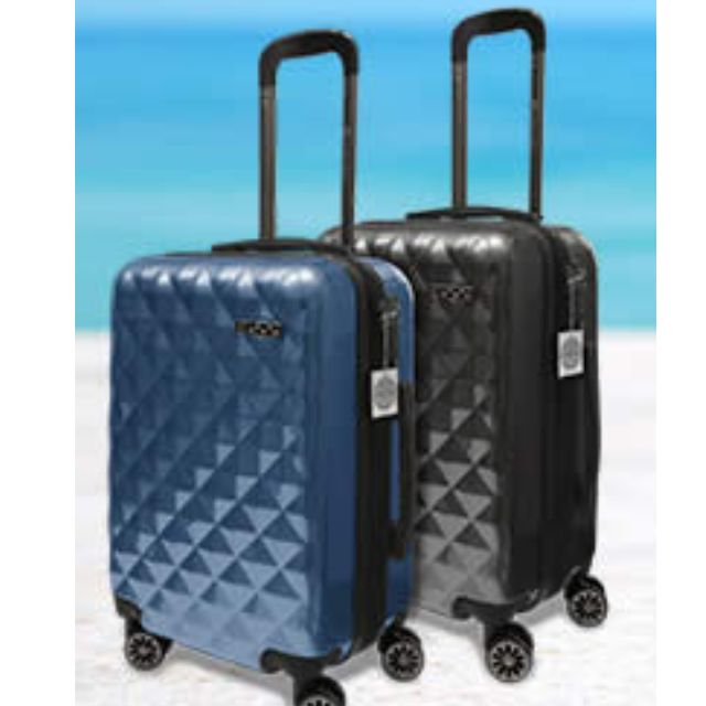 d48998defe8 Brand New Saro Vinci 24 Inch Luggage With Swarovski Crystals, Furniture on  Carousell