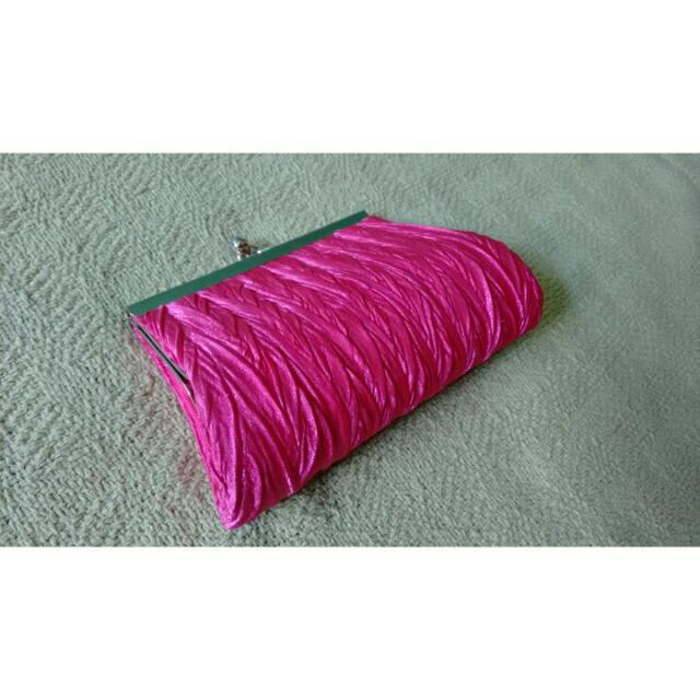 Classy Pink Clutch