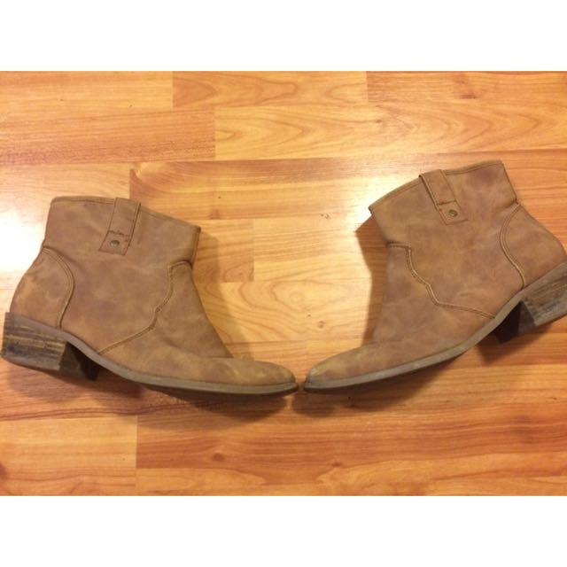 Cow Boy Leather Shoes