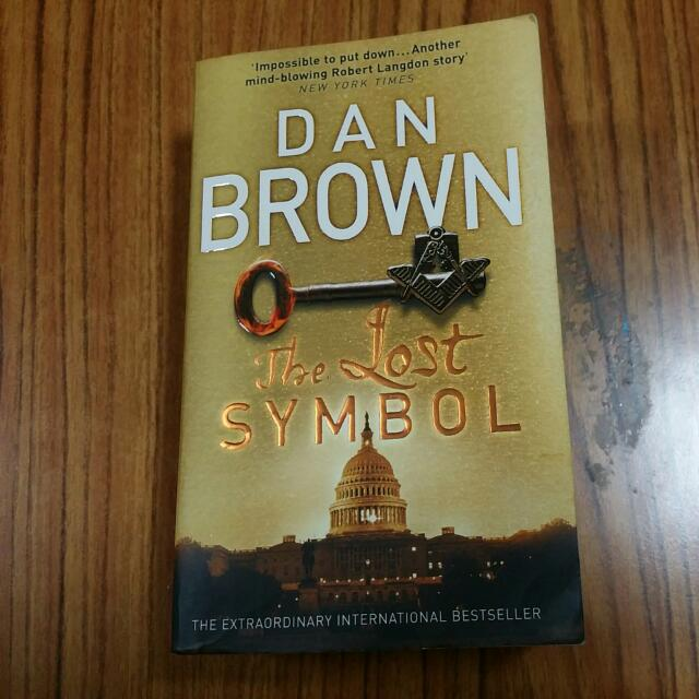 Dan Brown The Lost Symbol Books Stationery Fiction On Carousell