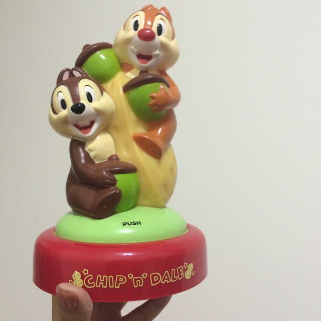全新✔️現貨✔️迪士尼Disney吉吉蒂蒂小夜燈