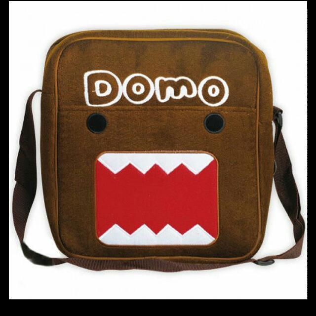 Domo 多摩君長方型包包/側背包/補習袋