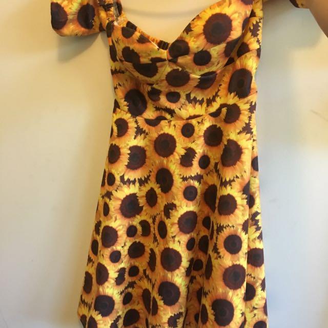 Everlasting Sunflower Dress