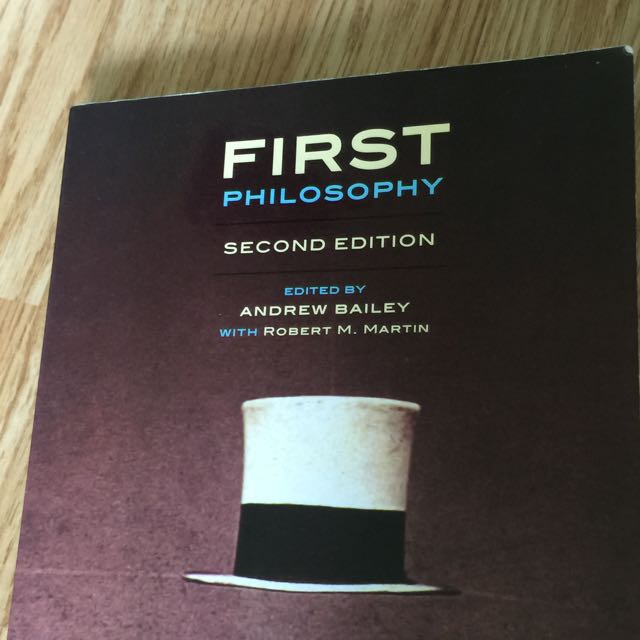 First Philosophy: Second Edition
