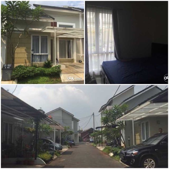 FOR SALE Rumah Townhouse Cluster di Cinere