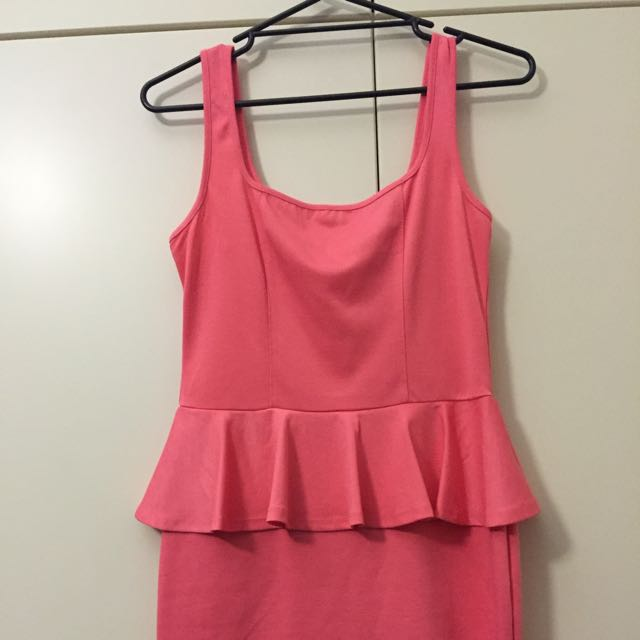 Free Fusion dress Pink New With Tags