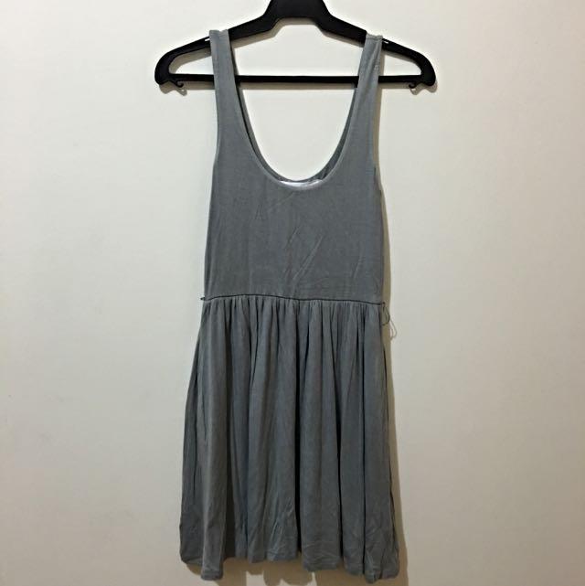 Gray Forever 21 Dress