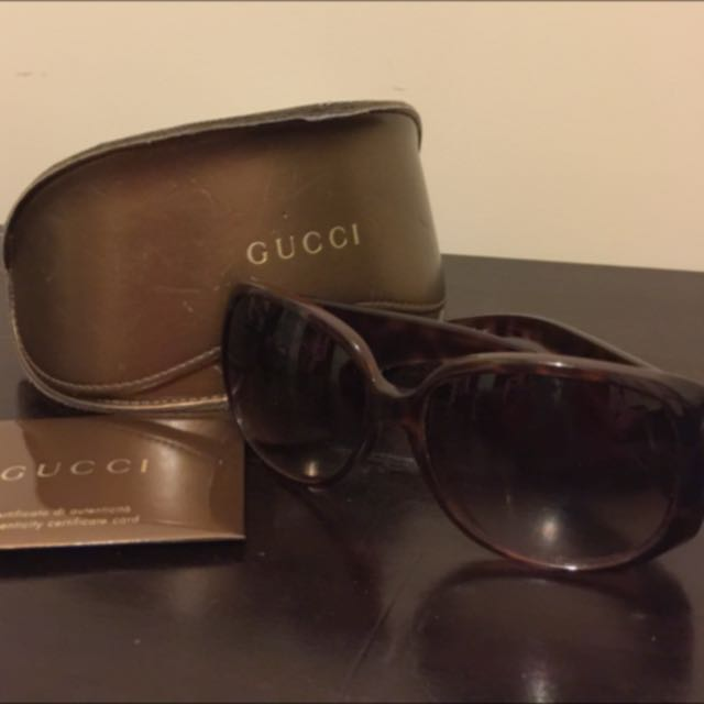 Gucci Sun Glasses - Authentic
