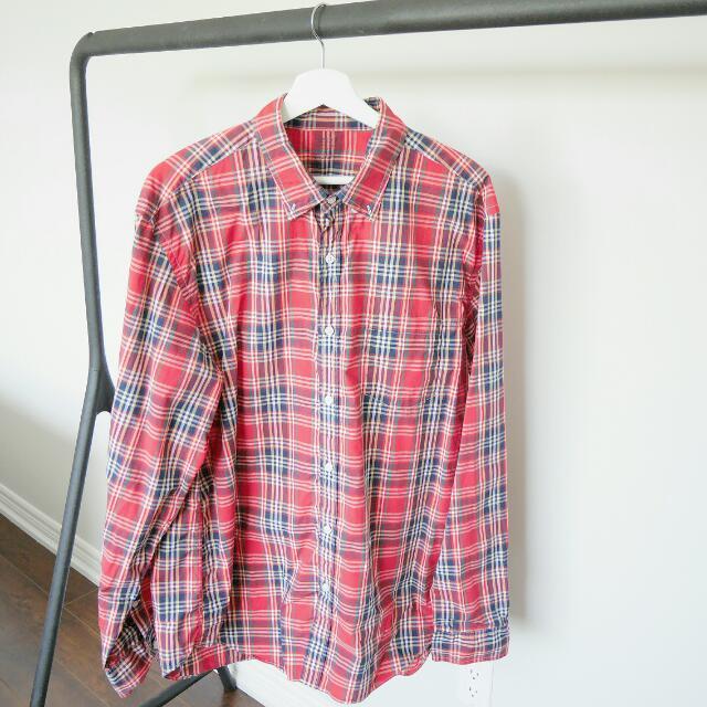 J Crew Shirt (Size: XL)