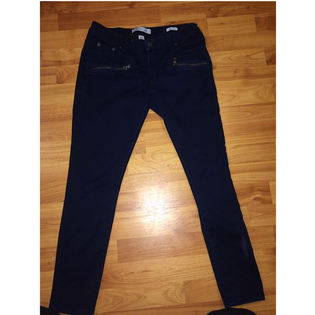 Kenneth Cole Jeans With Zipper Pockets