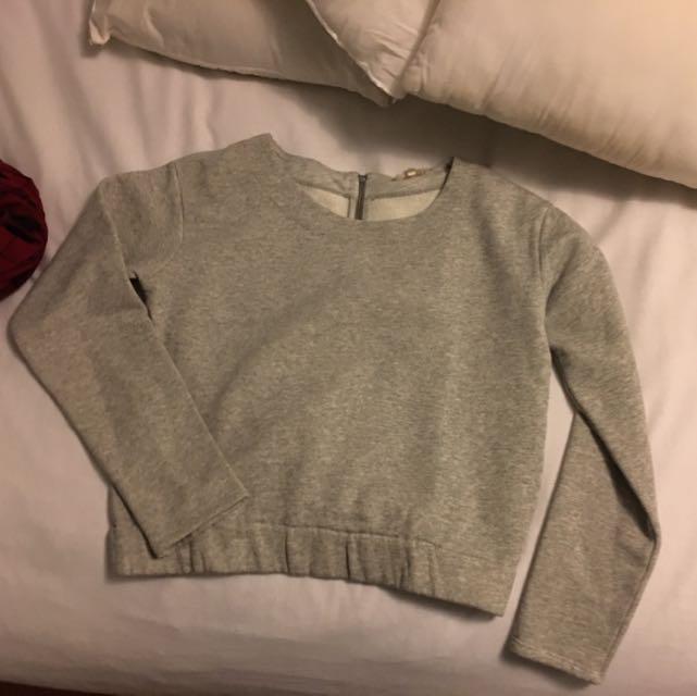Light Grey Never Worn Sweater Size Medium