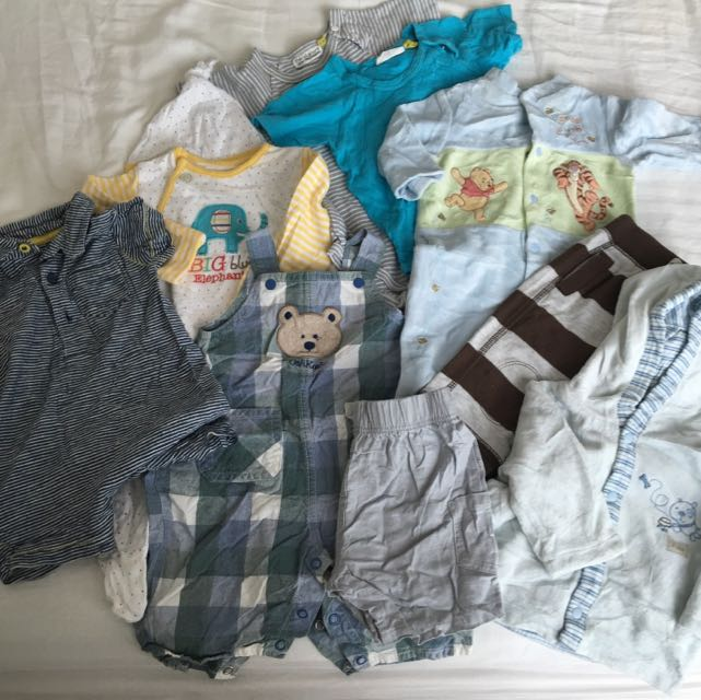 Mix Of Baby Items 0-3, 3-6