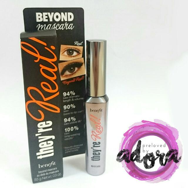 NEW - FULL SIZE Benefit They're Real Mascara