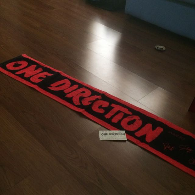 One Direction Scarf Japan Limited Edition