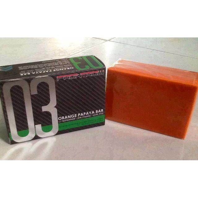 Orange Papaya Soap 03