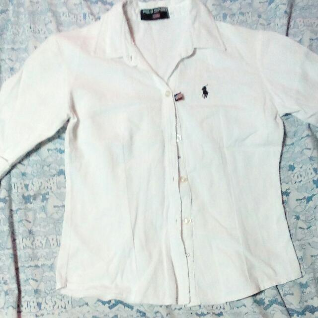 Orig White Polo Sport