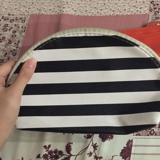 pouch zebra&orange pouch mini