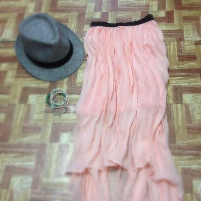 Preloved Sheer skirt