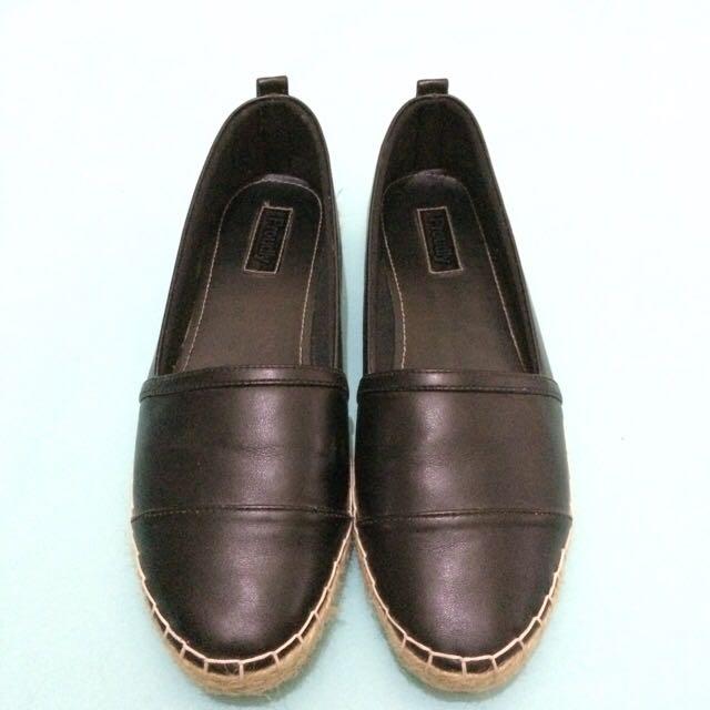 Proudlyshoes Black Espradilles Shoes