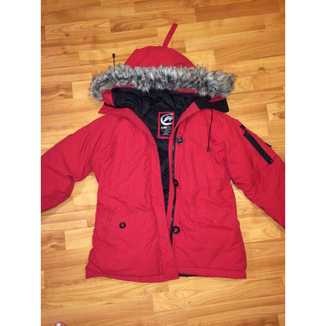 Red Ecko Heavy Duty Winter Jacket