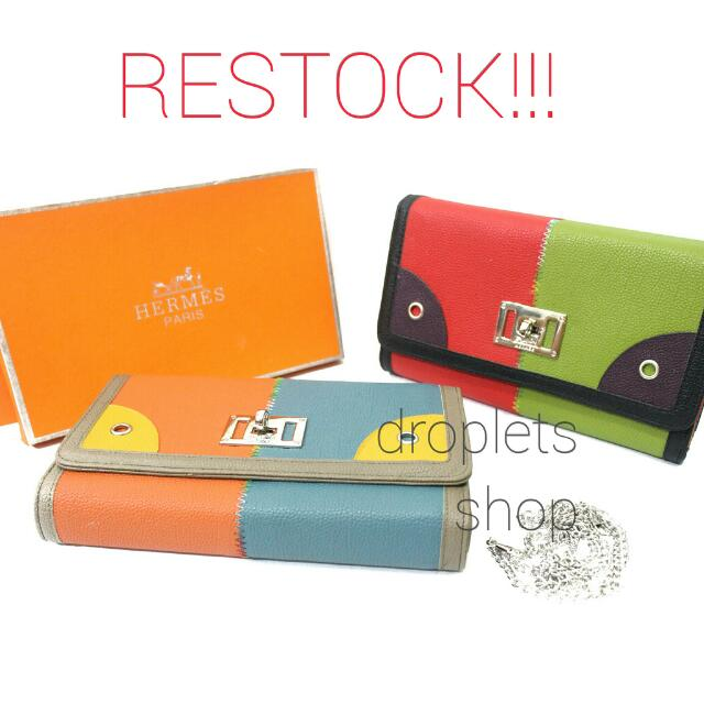 RESTOCK FAVORITE ITEMS: Dompet/ Clucth Hermes (Replika)